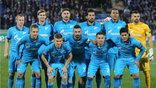 Состав команды зенит по футболу 2017