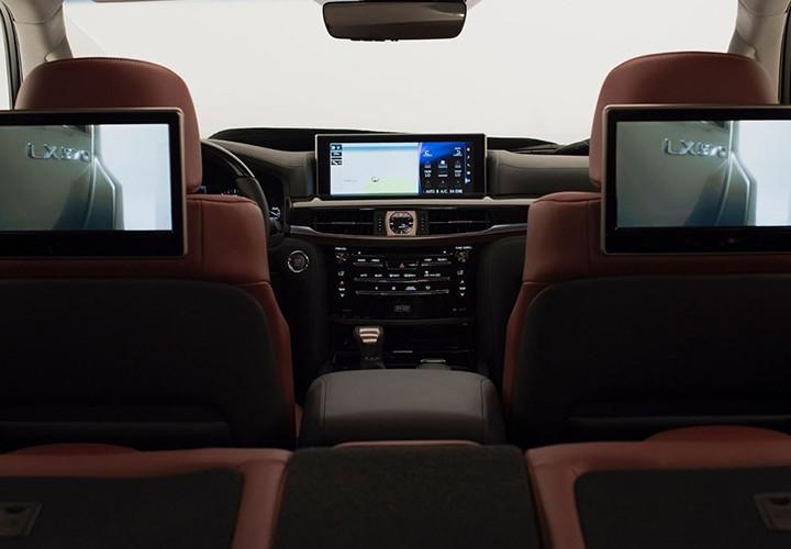 Новый Lexus LX модельного 2018 года