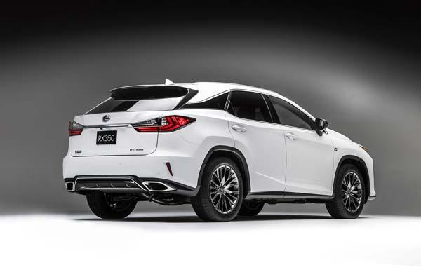 Новый Lexus RX модельного 2018 года