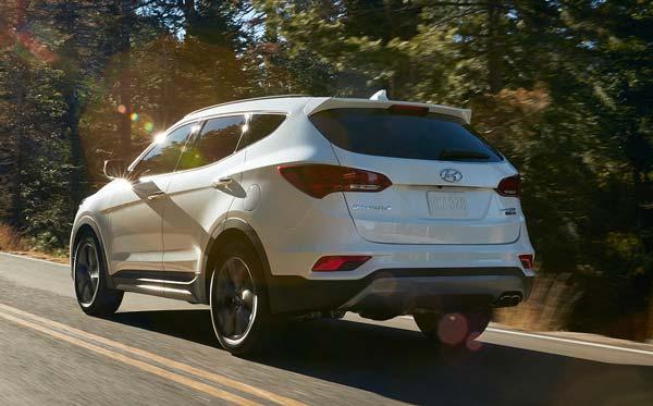 Обновлённый Hyundai Santa Fe в 2018 году
