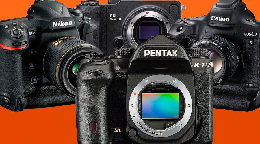 Новинки фототехники 2017-2018 года