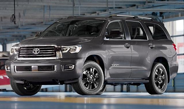 Новая Toyota Sequoia 2018 года