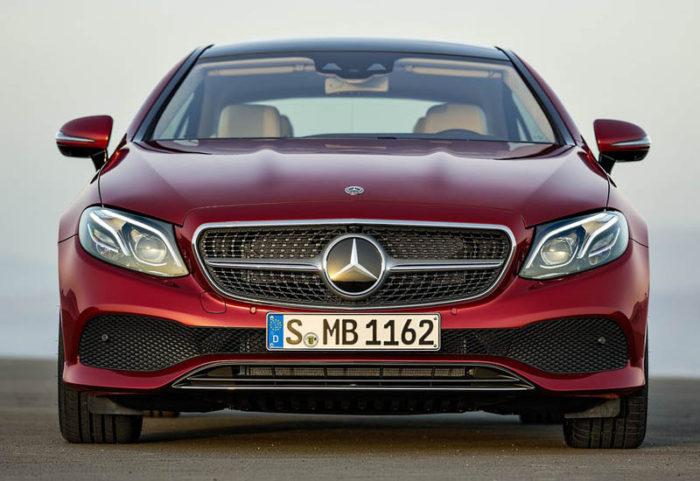 Обновлённый Mercedes Benz E Class Coupe 2018 года
