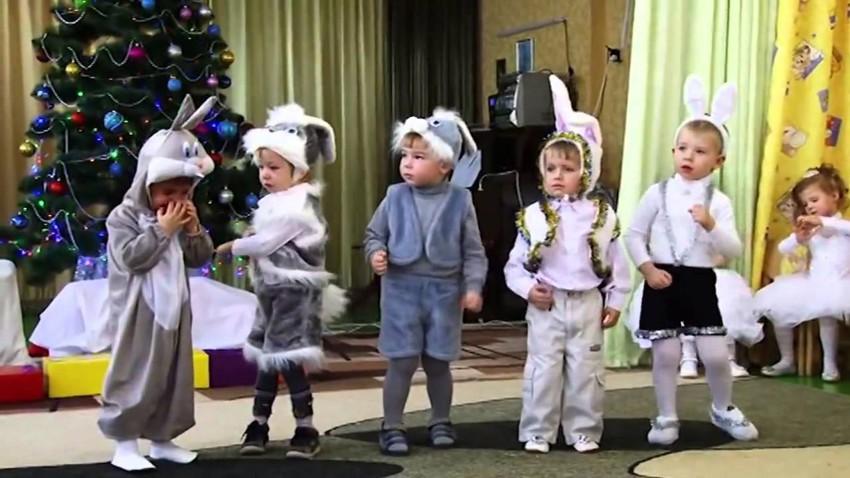 Сценарий Нового года 2018 для детского сада