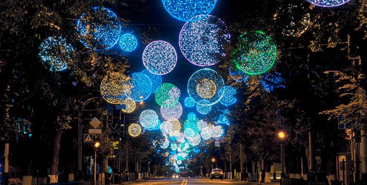 Новый год 2018 в Краснодарском крае