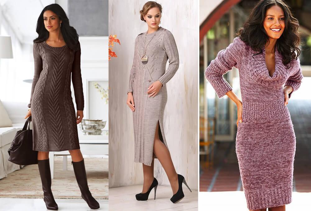 Модные повседневные платья 2017-2018