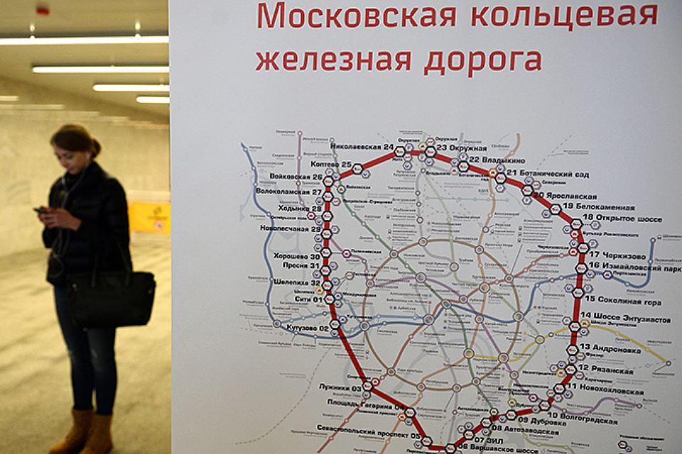 Малая кольцевая железная дорога москвы схема 350